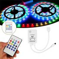 DC5-24V Mini Wireless Controller Music Remote Control for RGB RGBW LED Strip Light