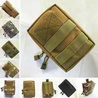 Outdoor Fishing Nylon Bag Vest Waist Pouch Bag For Outdoor Activities