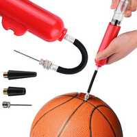 Xmund 8inch Manual Air Pump Football Basketball Inflator Multifunction Bicycle Pumps With 3 Extra Needles