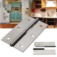 H Type Stainless Steel Furniture Cupboard Butt Box Door Hinge Furniture Fitting