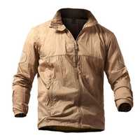 Mens Tactical Skin Outdoor Skin Jacket Lightweight Thin Wind