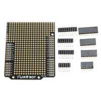DIY PCB Prototyping Protoshield Expansion Board Kit Compatible UNO R3 For Arduino