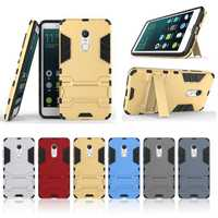 Hybrid Armor Shockproof Stand Hold TPU & PC Back Protective Case For Xiaomi Redmi Note 4X