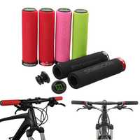 RockBros 1 Pair Bike Handlebar Grips Bicycle MTB BMX Bike Lock On Grips