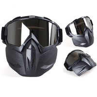 Full Face Mask Helmet Racing Hunting CS War Game Field Tactical Airsoft Paintball