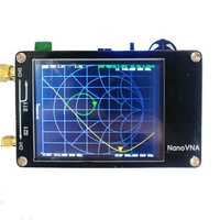 NanoVNA Vector Network Analyzer 50KHz - 300MHz Digital Display Touch Screen Shortwave MF HF VHF UHF Antenna Analyzer Standing Wave