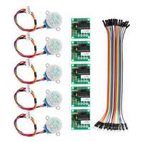 Geekcreit® 5Pcs 5V Stepper Motor With ULN2003 Driver Board Dupont Cable For Arduino