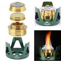 Naturehike NH18L001-T Alcohol Cooking Stove Camping Picnic Mini Ultralight Spirit Burner Cooker