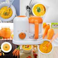 Electric Baby Food Maker Processor Toddler Blender Safe Healthy Steamer Processor BPA Free