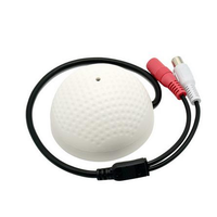 100 Square Meters Mini CCTV Security Surveillance Microphone Audio Input