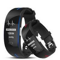 Bakeey P3 PLUS ECG+PPG Heart Rate Blood Pressure Monitor Smart Watch Activity Tracker Sport Watch