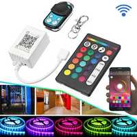 DC5-24V bluetooth APP Remote Control Controller Kit for RGB RGBW LED Strip Light