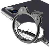 Universal Metal 360 Degree Rotation Finger Ring Holder Desktop Stand for iPhone Nubia Mobile Phone