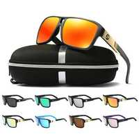 DUBERY D008 Polarized Sunglasses Square Sport Driving Helm Sun Glasses Eyewear
