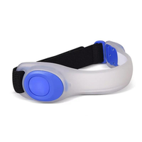 2pcs Night Running Sport Exercise LED Safety Armband Cycling Legs Band