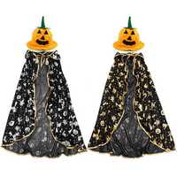 Children Kids Halloween Cloak Witch Dress Fancy Dress Cosplay Party Costume