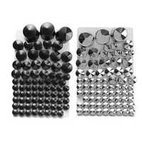 87pcsToppers Bolt Cap ABS For Harley Davidson Softail Twin Cam 1984-2006