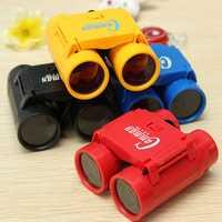 Kid Children's 2.5 x 26 Magnification Toy Binocular Telescope + Neck Tie Strap
