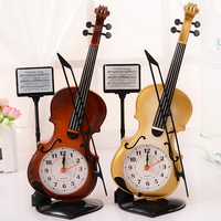 Portable Piano Plastic Alarm Clock Creative Student Table Ornaments Couple Children Alarm Clock