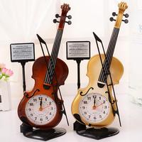 Portable Piano Plastic Alarm Clock Creative Student Table Ornaments Couple Children Alarm Clock