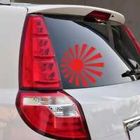 Sun Car Stickers Vinyl Decal Auto Body Truck Tailgate Window Door Universal
