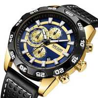 MEGIR 2096 Luxury Sports Style Chronograph Men Quartz Watch