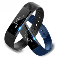 ID115 0.86 inch Step Counter Activity Monitor Smart Bracelet