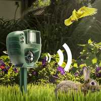 [2019 Third Digoo Carnival] Digoo DG-AR01 PIR Ultrasonic Animal Dispeller Dog Cat Insect Flash Light Dog Repeller Outdoor Garden Expeller
