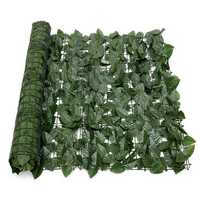 Expanding 1*3M Artificial Lvy Leaf Wall Fence Green Garden Screen Hedge Decorations