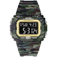 SMAEL 1801 Camouflage Cowboy Luminous Digital Watch