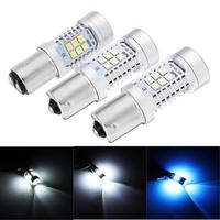 2pcs 1156 1157 LED Car Reversing Backup Lights Brake Fog Turn Decoding Bulb Lamp 21W 6500K