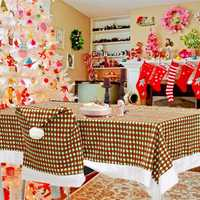 200x145cm Christmas Tablecloth Cover Hotel Dining Room Wedding Kitchen Decor Restaurant