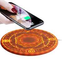 Bakeey 10W Magic Array Wireless Charger Fast Charging Pad For iPhoneX S9 Note9 Huawei P20 pro