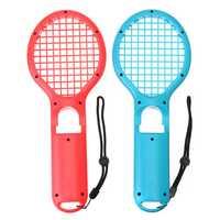 2Pcs DOBE TNS-1843 Tennis Racket Racquet Game Controller Gamepad for Nintendo Switch Joy-Con Game Console