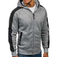 Casual Jacquard Cashmere Cardigan Hooded