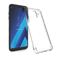 Bakeey Air Cushion Corner Transparent Soft TPU Protective Case for Samsung Galaxy A6 Plus