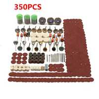 350pcs Rotary Tool Accessories Set Grinding Sanding Polishing Kit