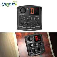Cherub GT-4 Acoustic Guitar Preamp 3 Band EQ Pick Up For Folk Acoustic Guitar