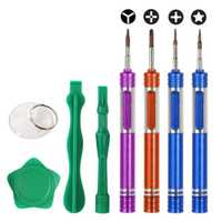 Bakeey Precision Screwdriver Set Plastic Pry Suction Cup Repair Tool Kits for iPhone Xiaomi
