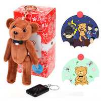 Bear Gentleman Covert Personal Alarm Self Defense Safety Alarm Bug Repellent for Ladies Children