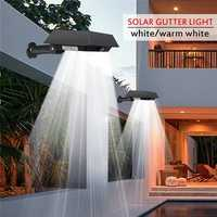 Solar 30 LED PIR Motion Sensor Outdoor Yard Gutter Garden Wall Light Waterproof Security Lamp