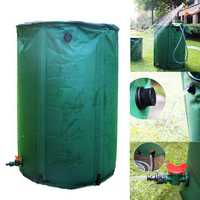 IPRee® 100L 225L 300L Outdoor Foldable Water Butt Bucket PVC Compressible Rain Barrel For Shower Bathing