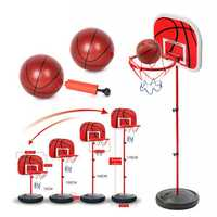 Kid Mini Basketball Stand Back Board & Hoop w/ Ball & Pump Adjustable 73-170CM