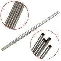 5pcs 304 Stainless Steel Capillary Tube OD 2mm x 1.6mm ID Stainless Pipe Length 500mm