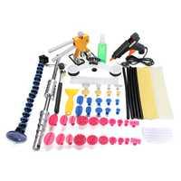 Car PDR Kit Paintless Dent Repair Puller Lifter Hammer Hail Remove Glue Tools Kit
