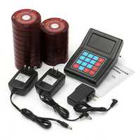 Wireless Restaurant Coaster Pagers Guest Calling Paging Queuing System