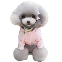 Winter Warm Pet Dog Clothes Four-Legs Hoodie Small Dogs Sport Style Cotton Coats