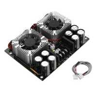 420W x 2 AC 24V TDA8954TH Dual-core Digital Audio Amplifier Board With CPU Fan Hifi Two Channel Amplifier