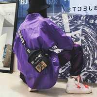 Men And Women Oxford Chest Bag Stylish Hip-Hop Crossbody Bag