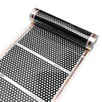 50cm 2M Floor Heating Film Infrared Underfloor Film Pads Honeycomb Reticulated 220V